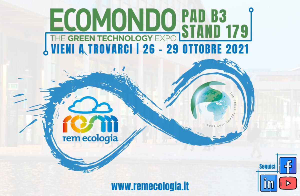 Rem Ecologia parteciperà ad Ecomondo 2021